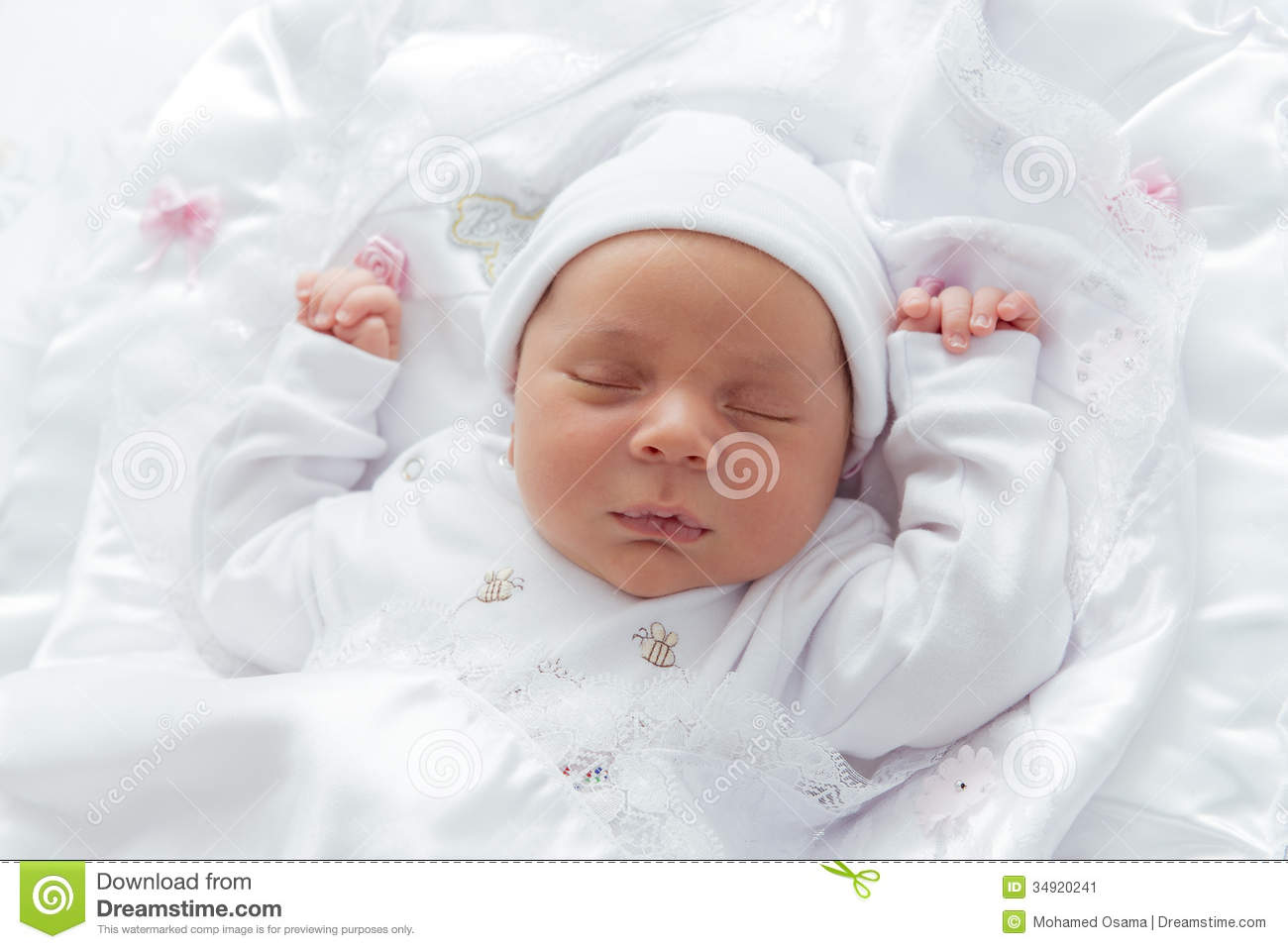 new born baby looking stock image   image 34920241