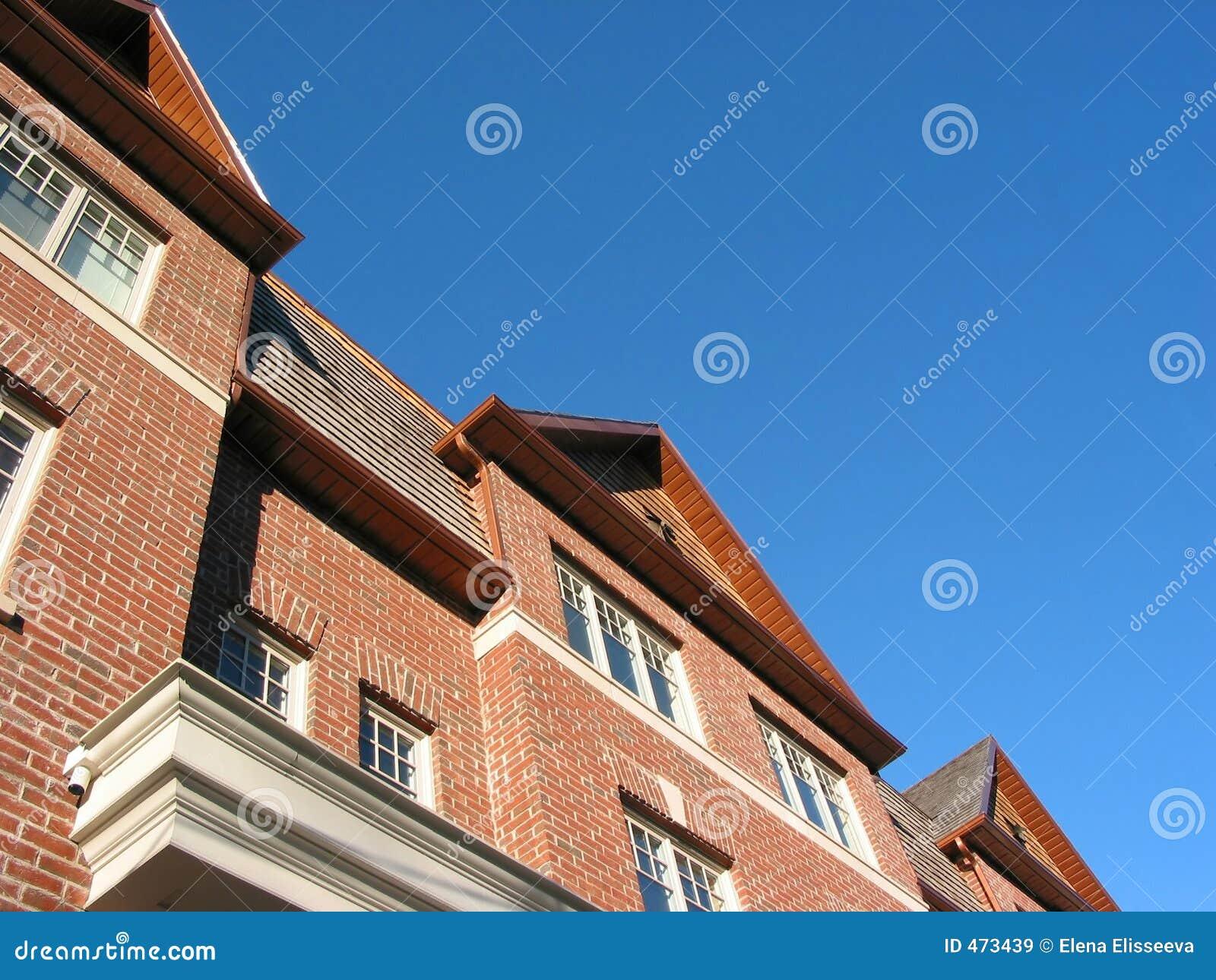 New brick townhomes