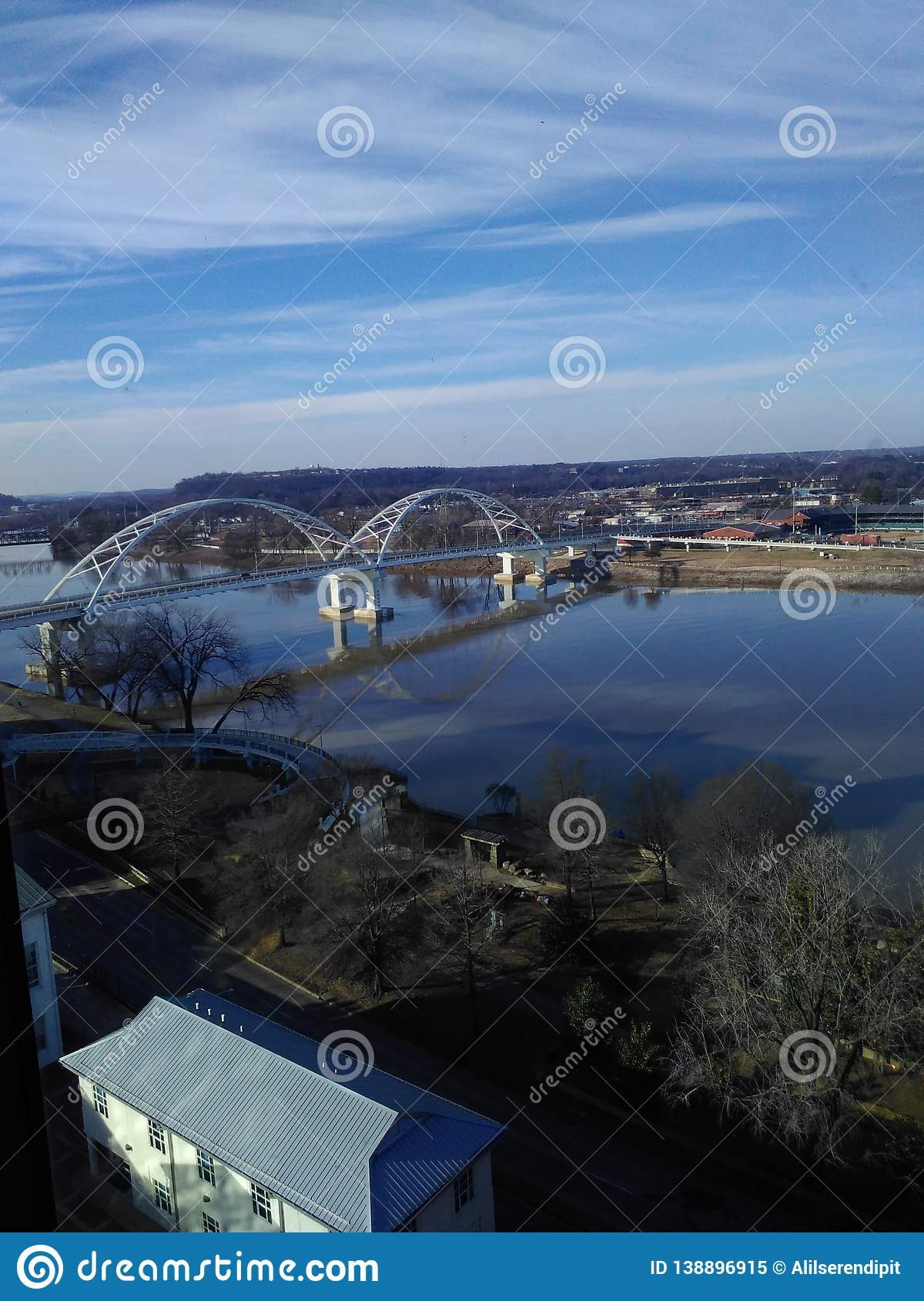 Broadway Bridge over Arkansas River