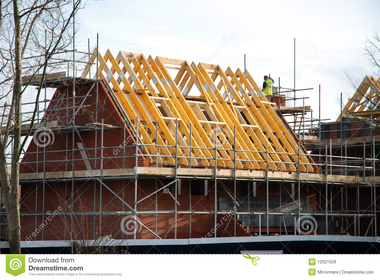 Build A House Royalty Free Stock Image