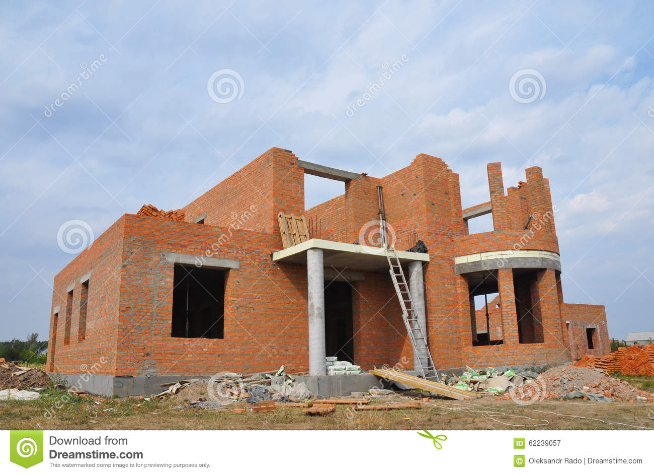 Brick house building design decoration for Brick house construction cost
