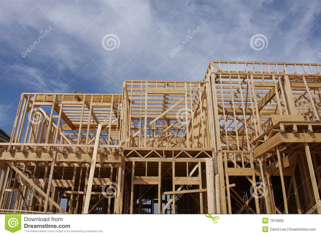 New building under construction royalty free stock photo for Building under construction insurance