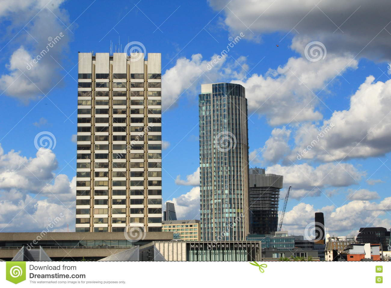 New Buildings London Stock Photo Image 76252233