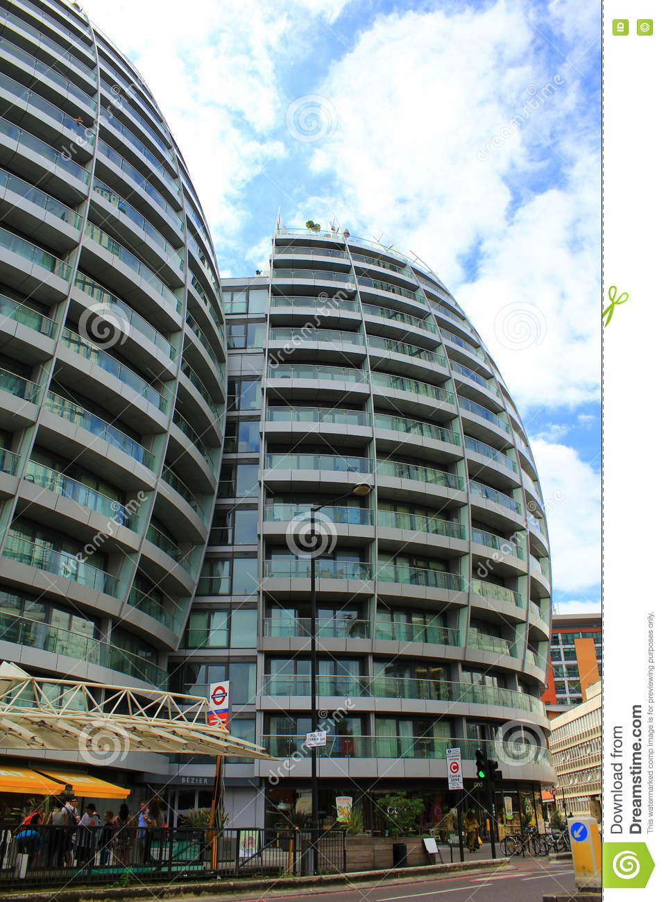 New Buildings In London Great Britain Editorial Stock Photo