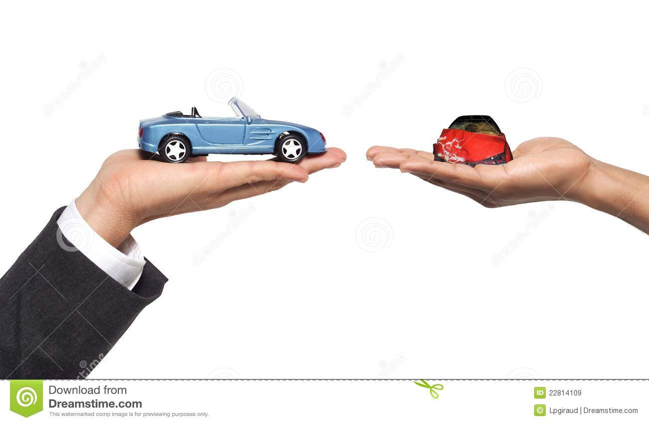 New car after accident stock image. Image of auto, dealer - 22814109