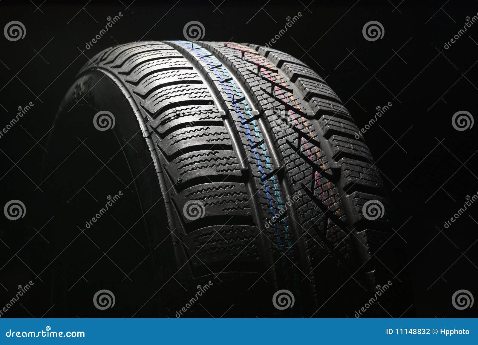 new car tire closeup royalty free stock photo 55483221. Black Bedroom Furniture Sets. Home Design Ideas