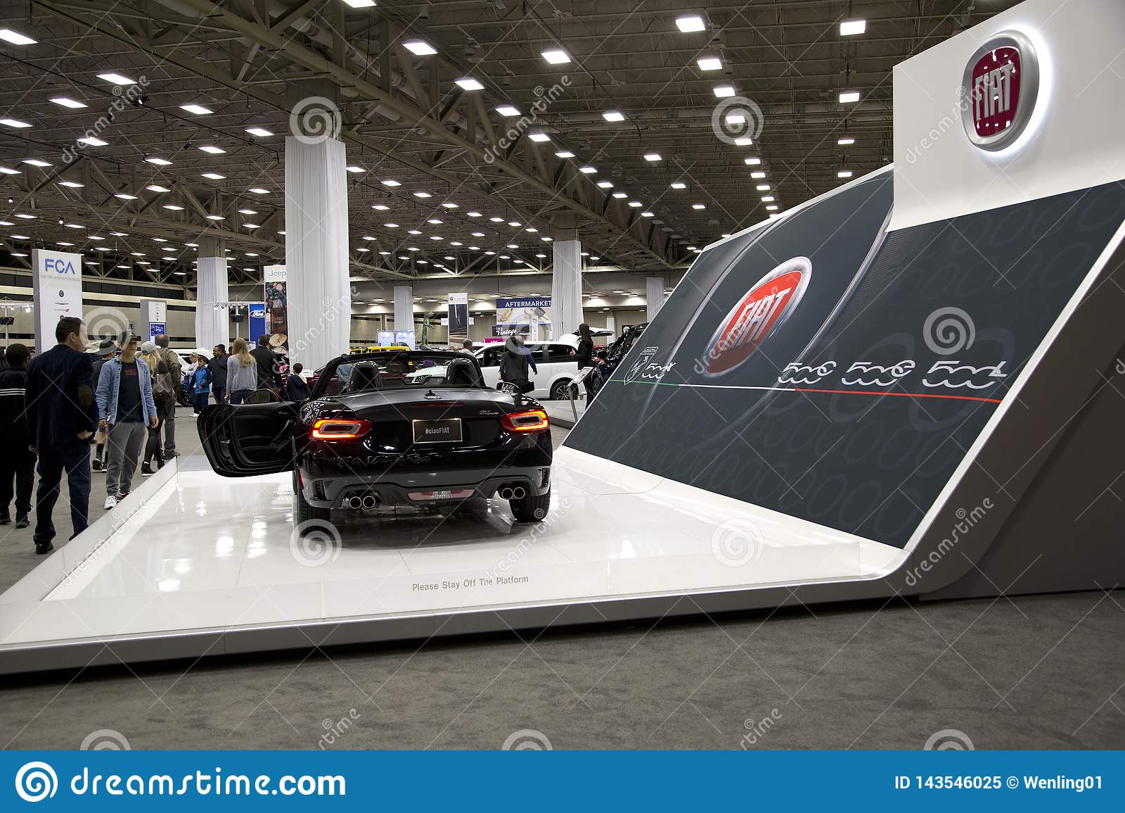 Dallas Car Show >> New Cars In Dfw Auto Show Dallas Tx Usa 2019 Editorial Image