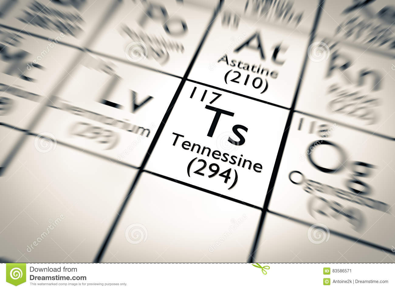New chemical element discovered tennessine stock illustration download new chemical element discovered tennessine stock illustration illustration of chemistry energy urtaz Gallery