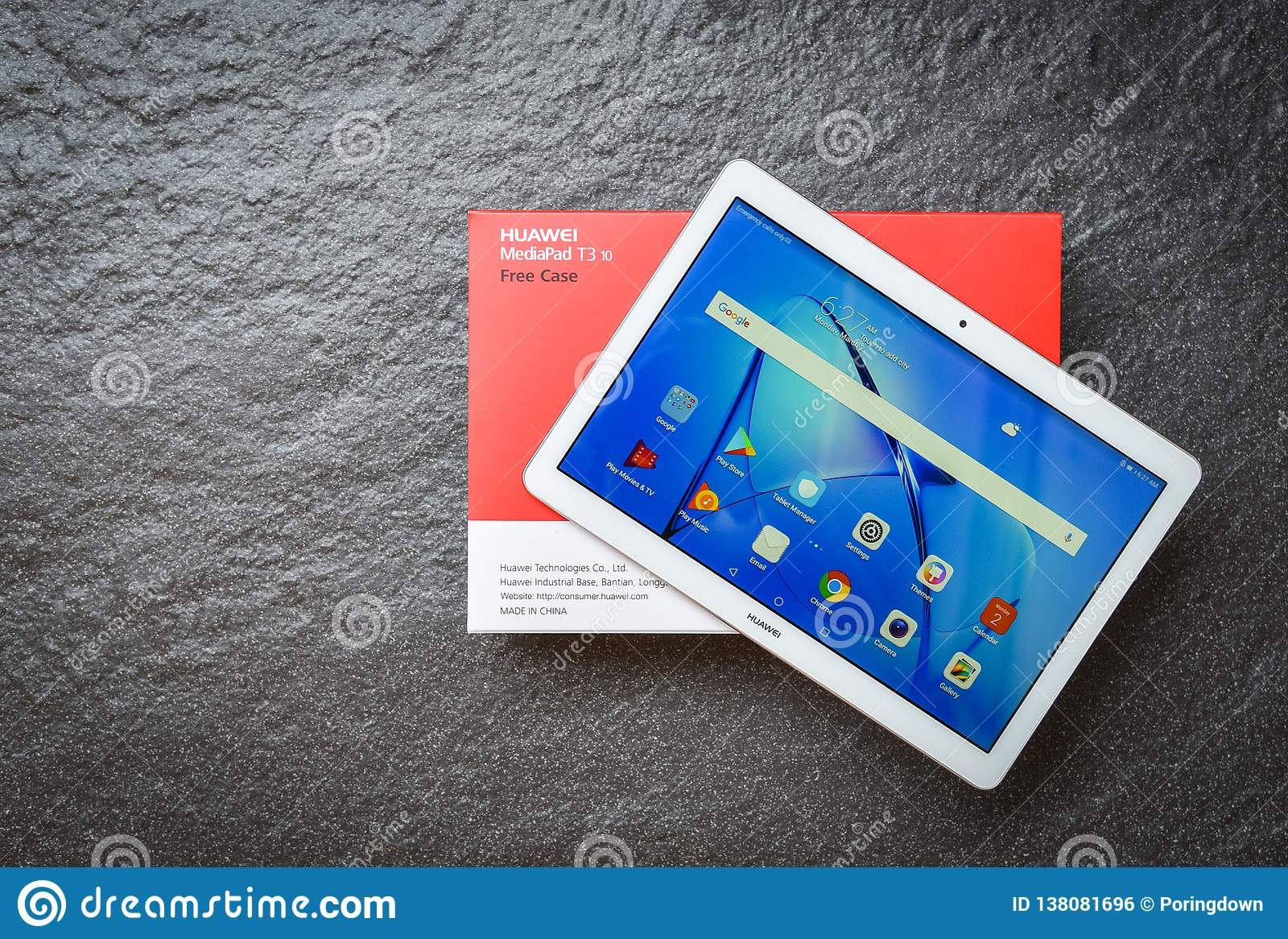 New Computer Tablet Huawei Mediapad T3 10 Inch White Color