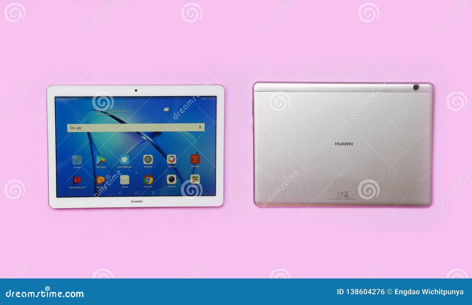 Strange New Computer Tablet Huawei Mediapad T3 10 Inch White Gold Beutiful Home Inspiration Xortanetmahrainfo