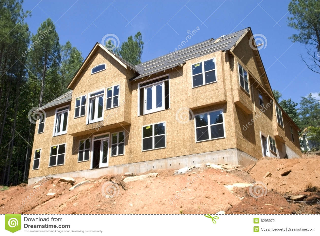 New construction basement stock photography image 6295972 for New construction basement