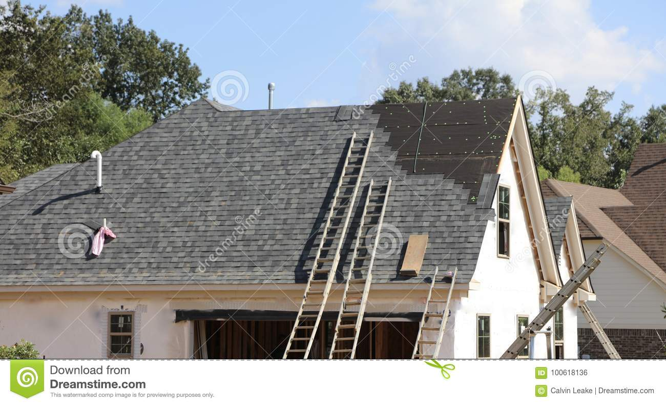 Roof Work on New House