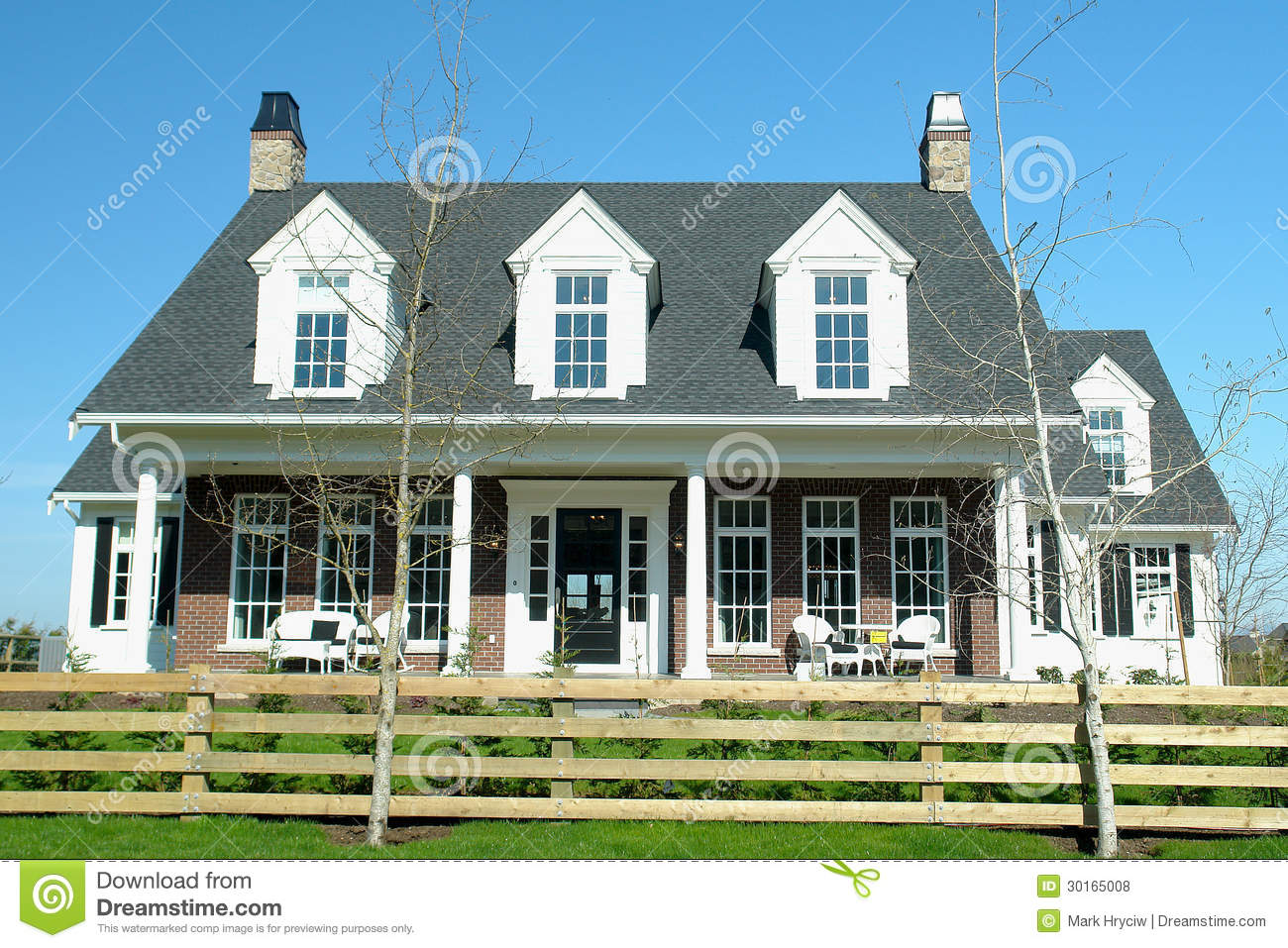 New house home royalty free stock photos image 30165008 for Langley home