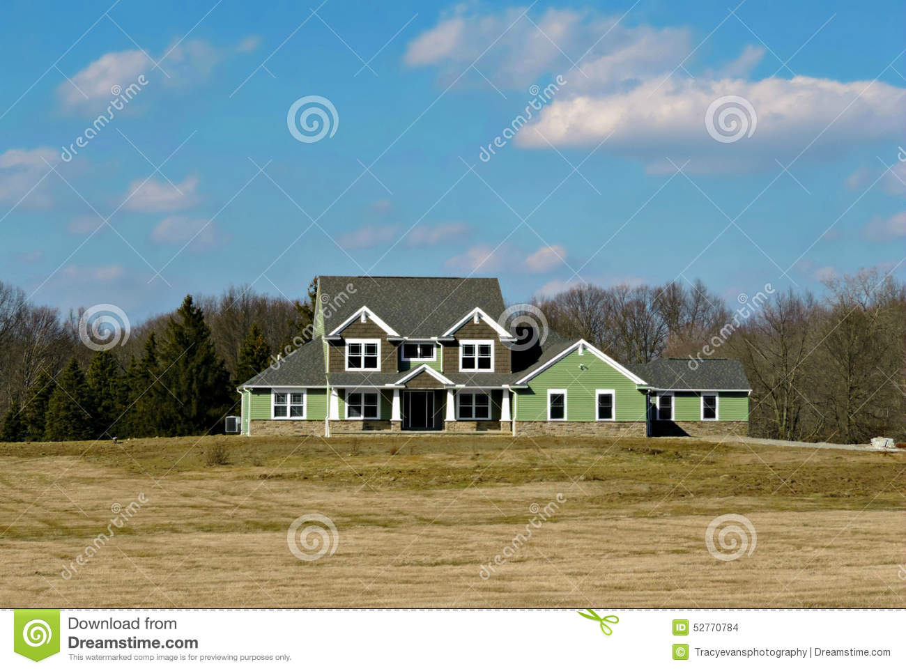 Country home royalty free stock photography for Country house online