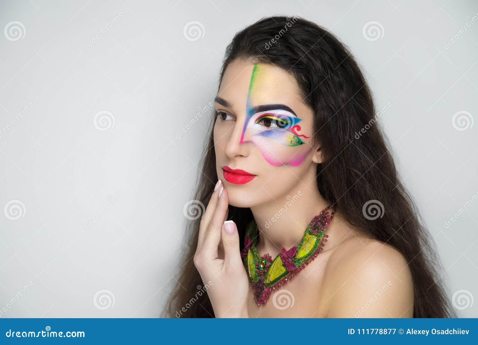 Fantasy woman make up