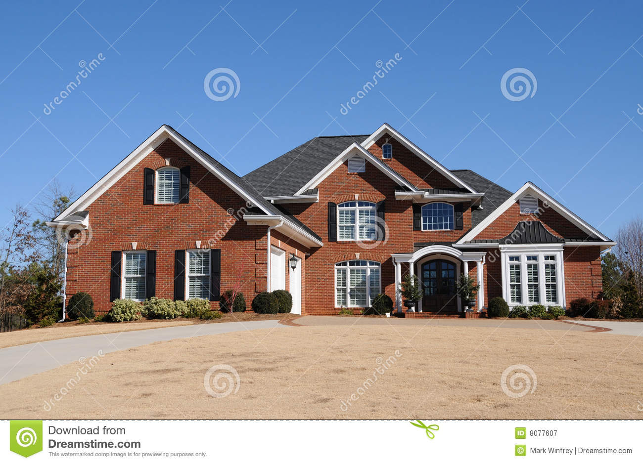 New custom built house royalty free stock photography Custom build a house online