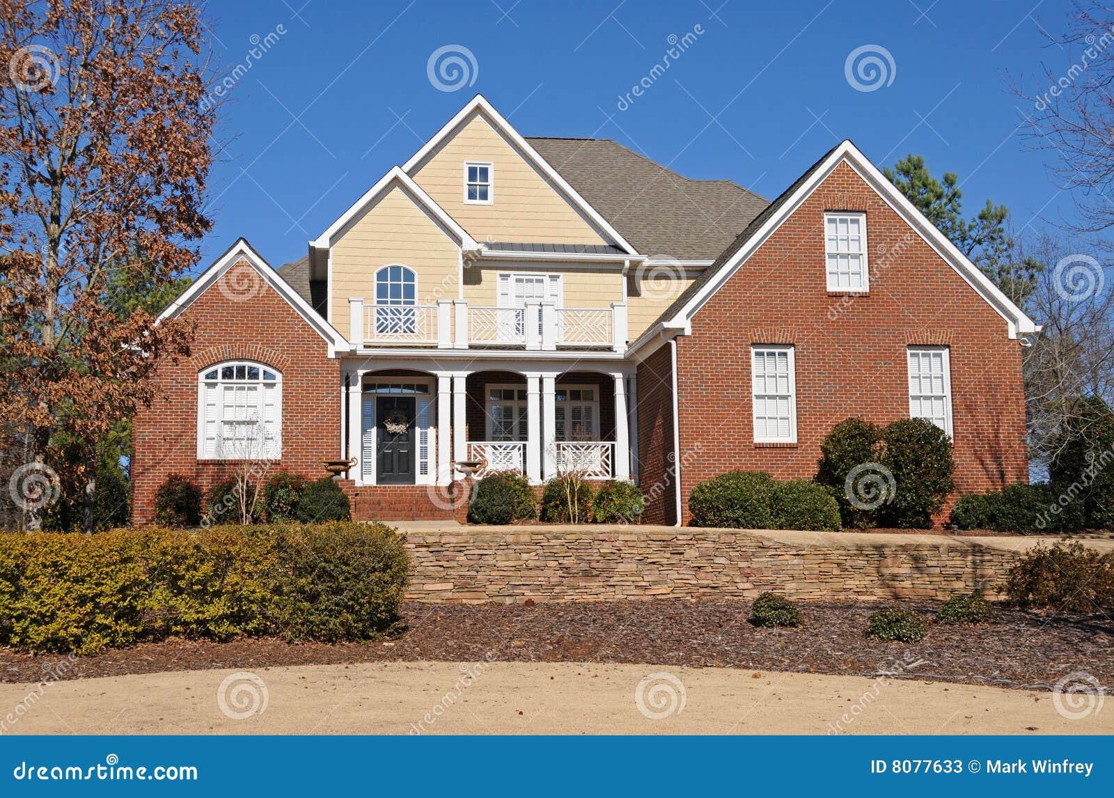 New Custom Built House Stock Photos Image 8077633
