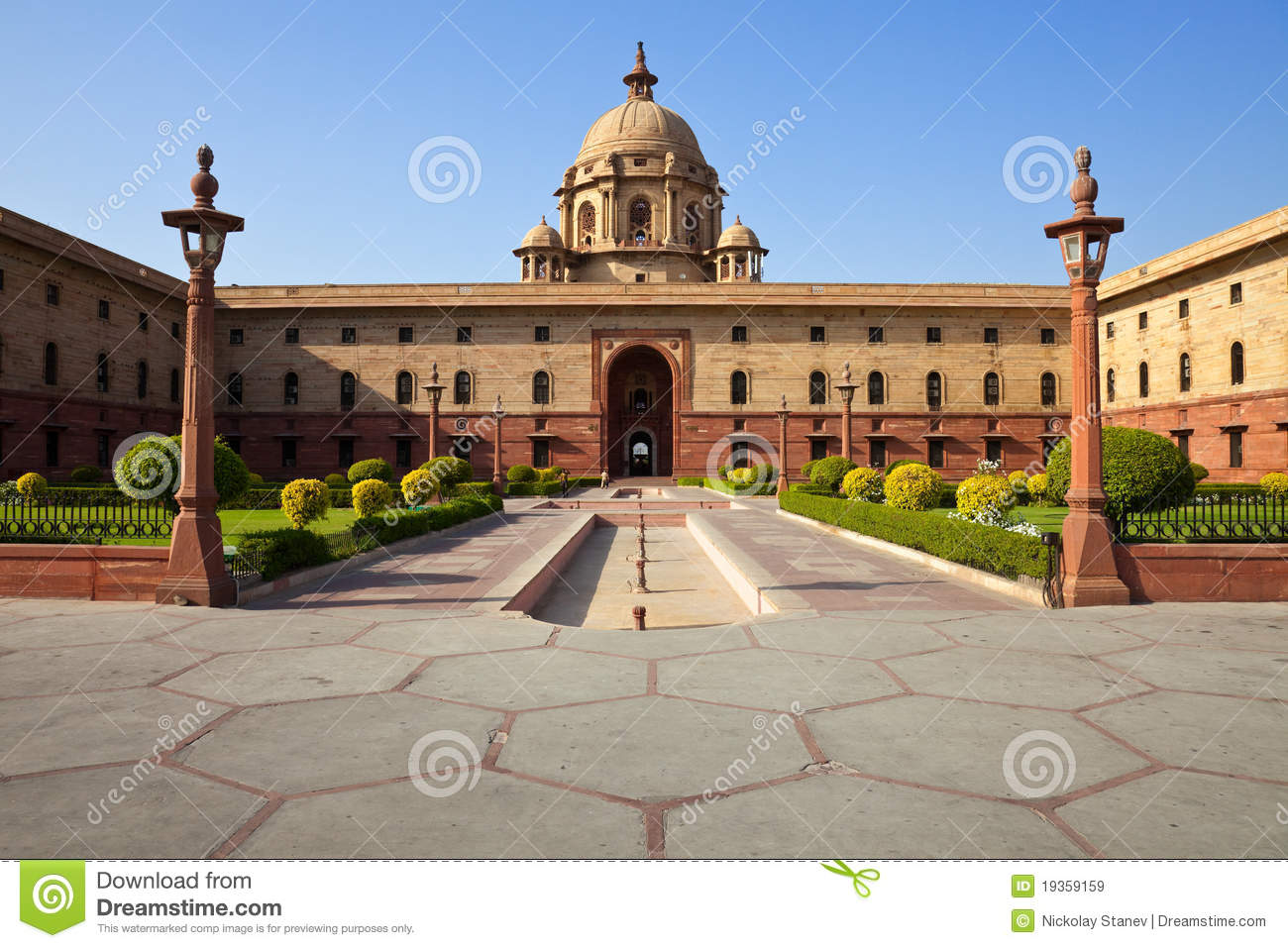 ... to Rashtrapati Bhavan, the Presidential House in New Delhi, India
