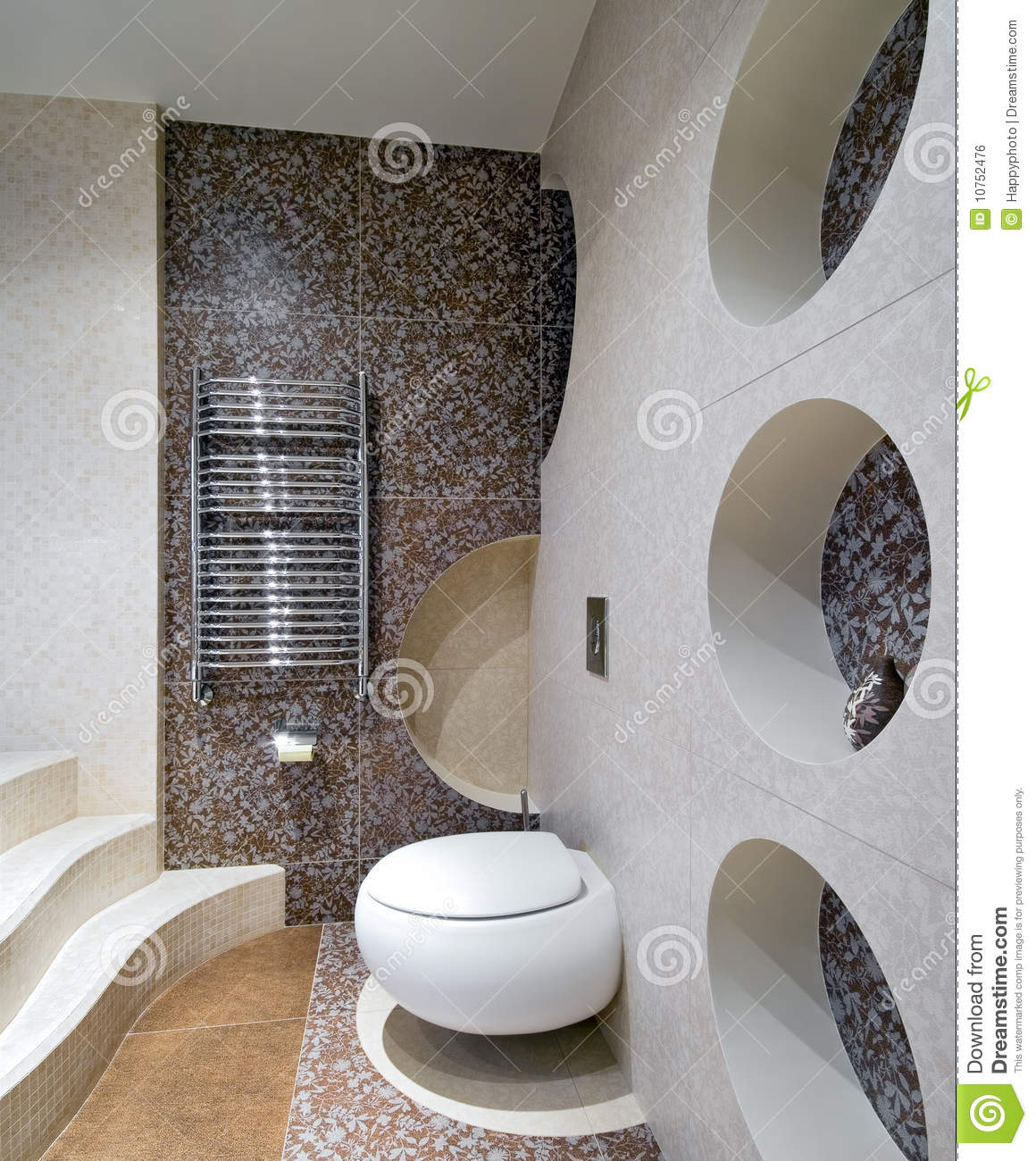 New design of toilet room royalty free stock image image for Toilet room decor