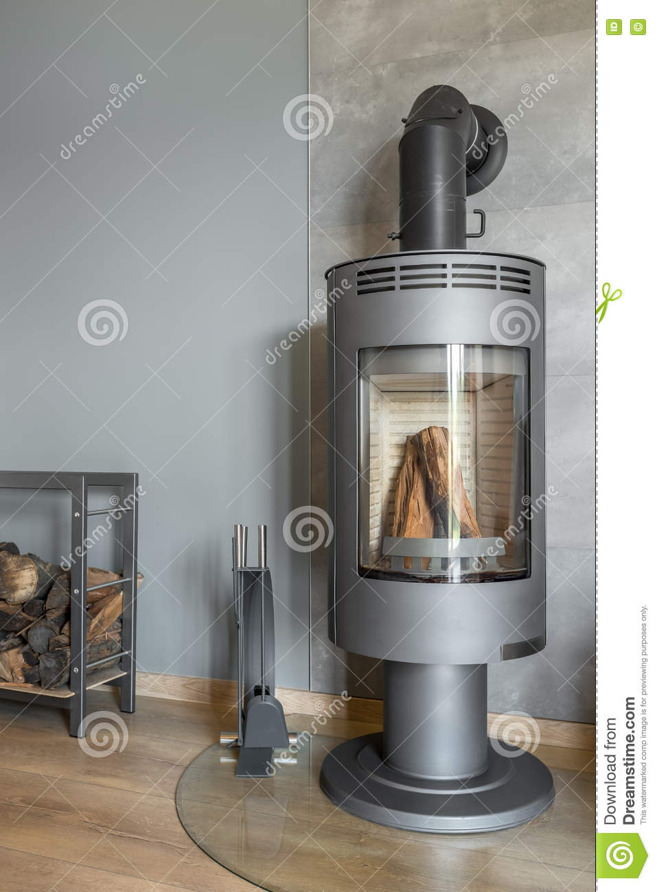 a8495bdfd059 New Design Trendy Fireplace Stock Photo - Image of contemporary ...