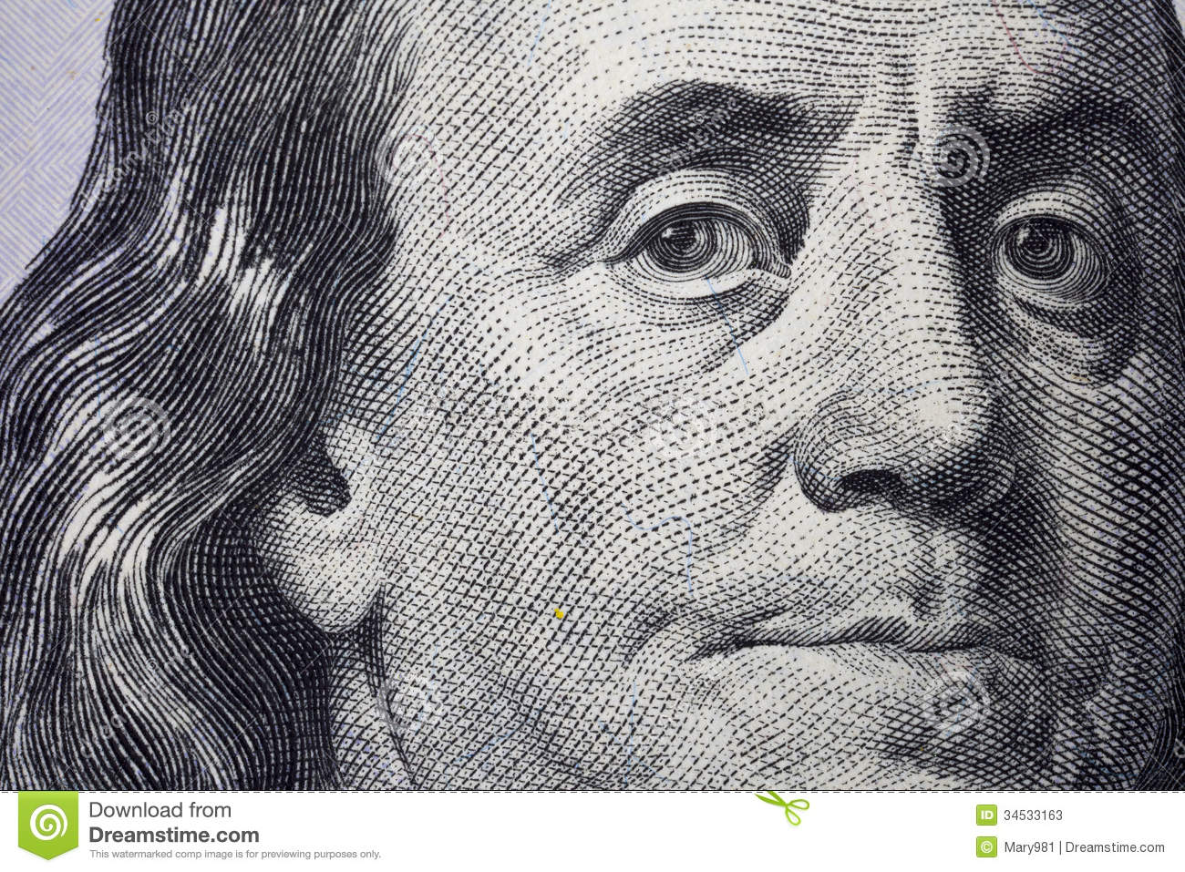 New 100 Dollar Bill Us Currency Stock Photos Image 34533163