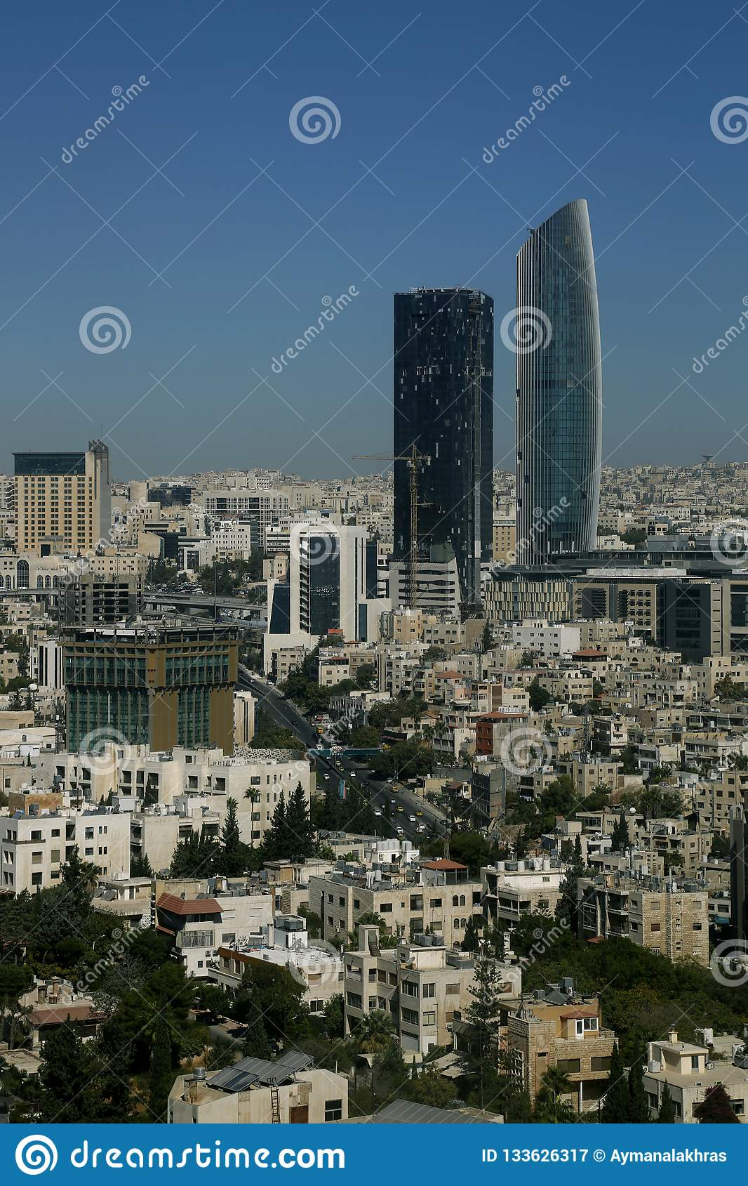 The New Downtown Of Amman City Abdali Area