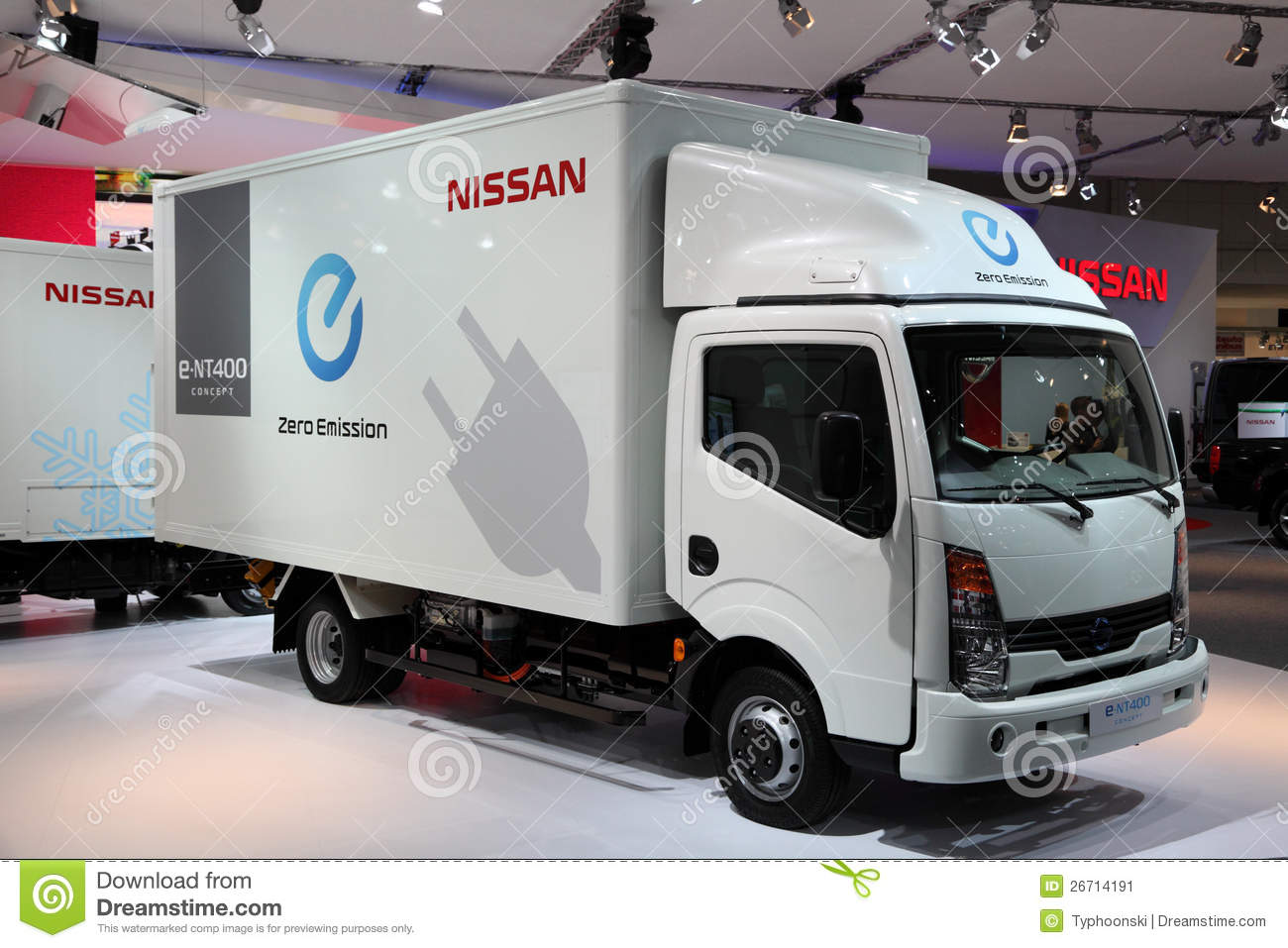 New electric nissan e nt400 editorial photo image 26714191 for Nissan motor finance login