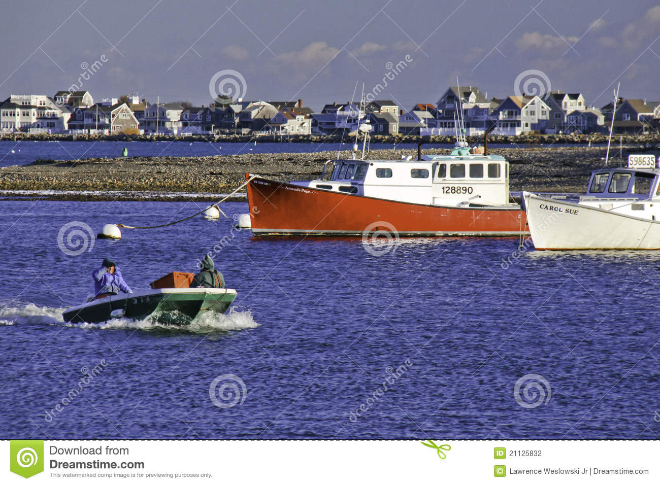 New england fishermen and fishing boats editorial for New england fishing