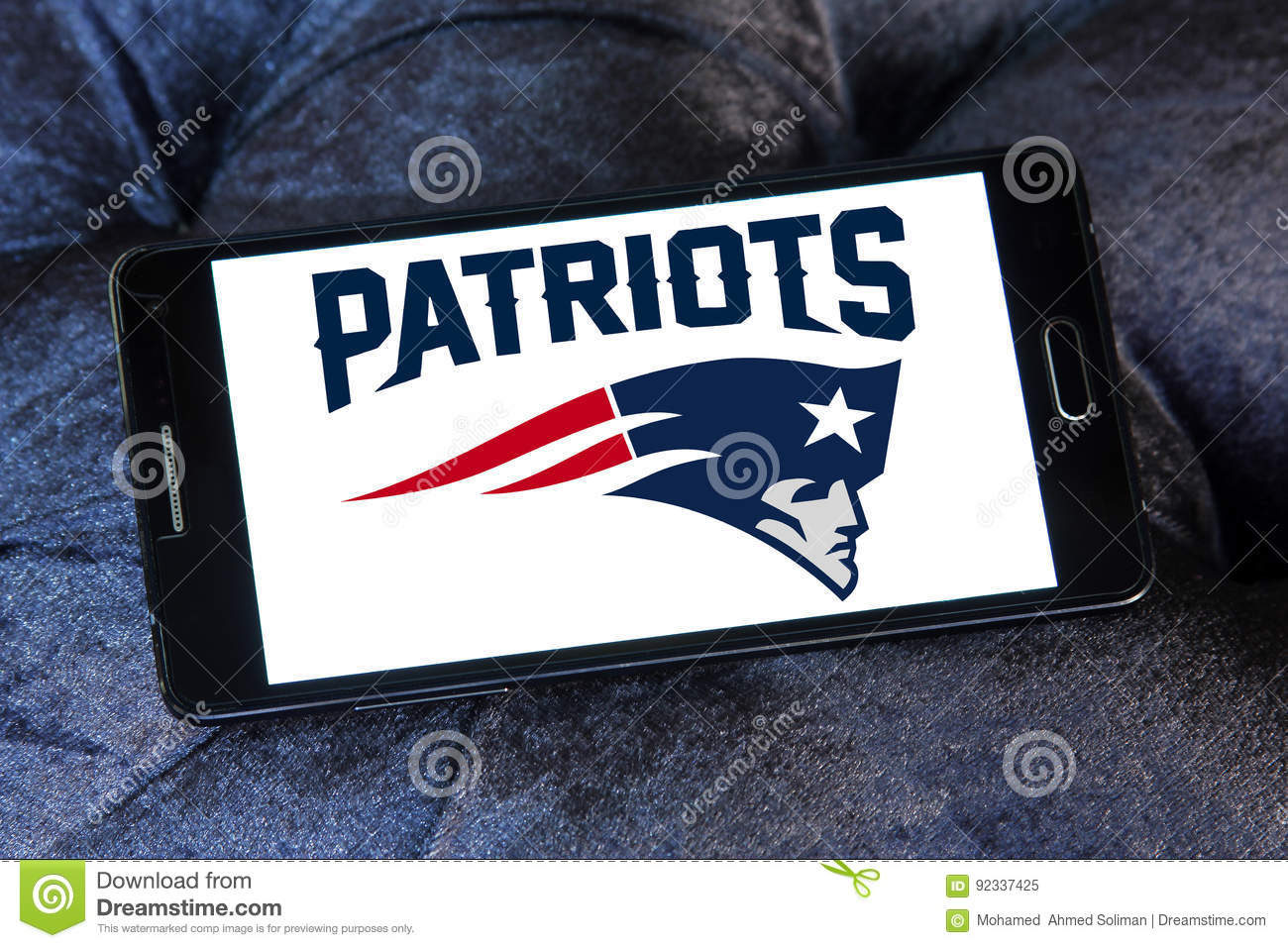 New England Patriots American Football Team Logo Editorial Image