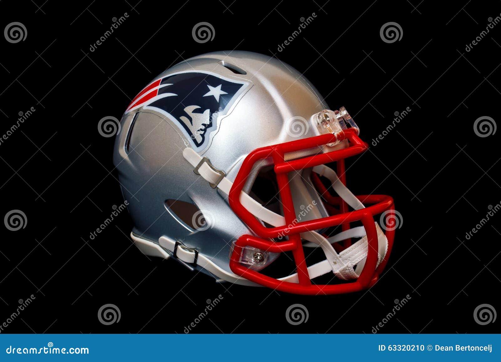 New England Patriots Helmet Editorial Image - Image: 63320210