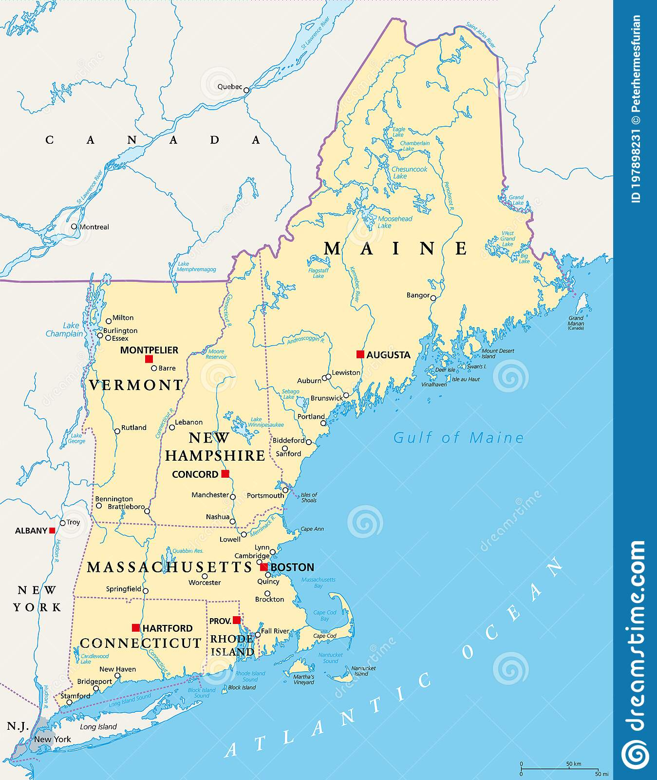 New England Map Stock Illustrations 728 New England Map Stock Illustrations Vectors Clipart Dreamstime