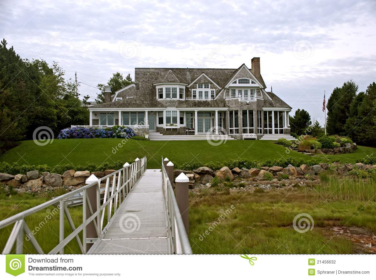 New england style house stock photo image of style for New style homes