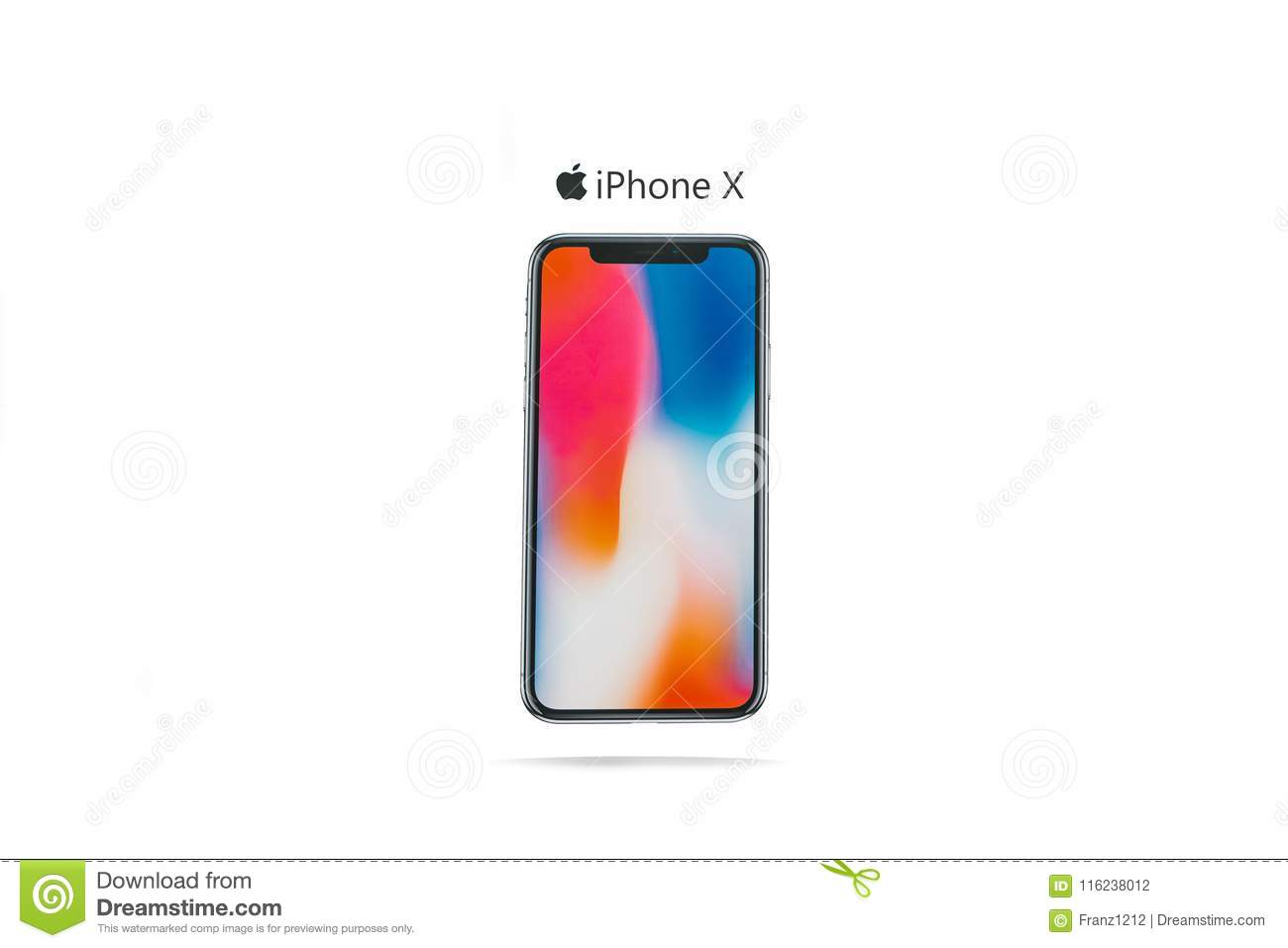 The New Frameless Phone Firm Of Apple Called The IPhone X Editorial ...