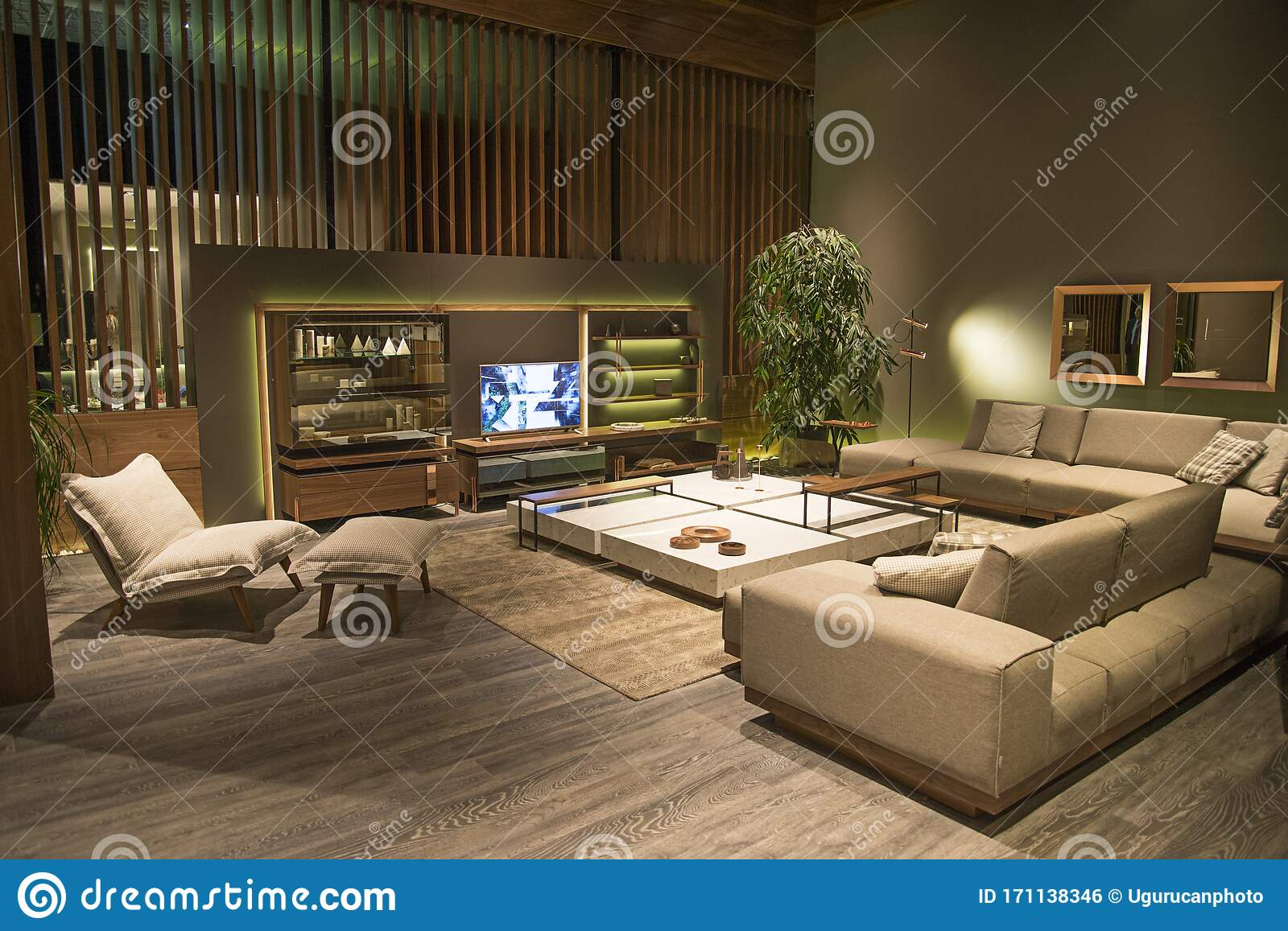 New Furniture Designs From The Furniture Fair In Istanbul Exhibition Center Leather Sofas Luxury Lounge Seating Groups Leather Editorial Photo Image Of Design Bedroom 171138346