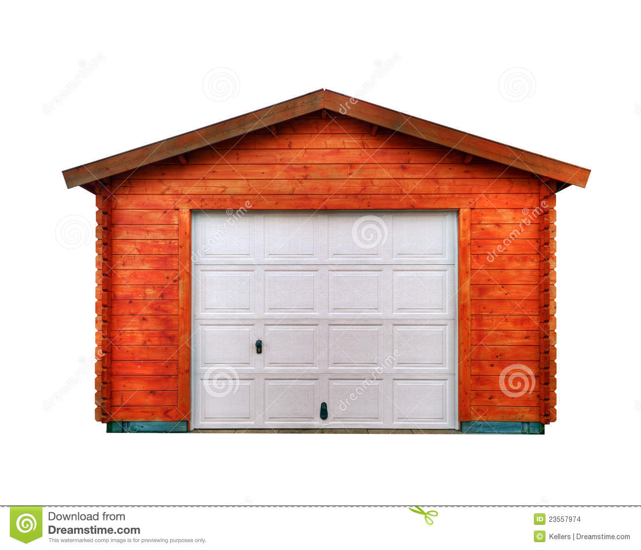 Garage door clip art - New Garage Stock Images Image 23557974