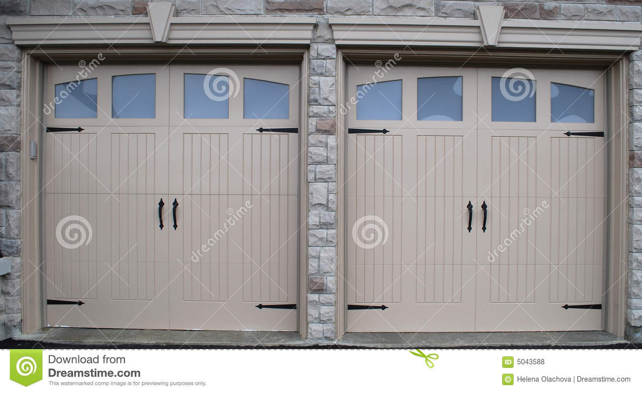 New garage doors royalty free stock photos image 5043588 for New garage