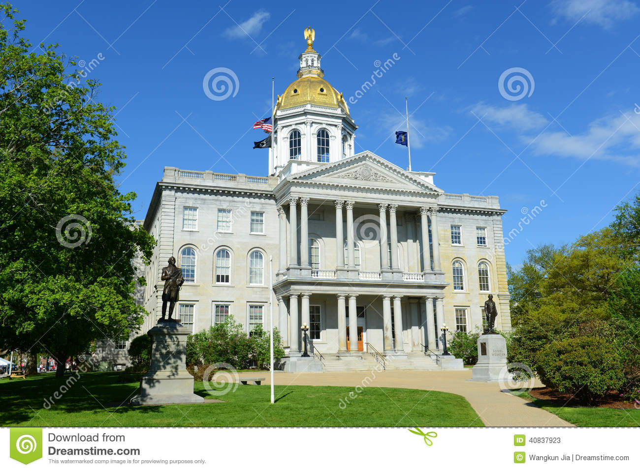 Concord (NH) United States  City new picture : State House, Concord, New Hampshire, USA. New Hampshire State ...