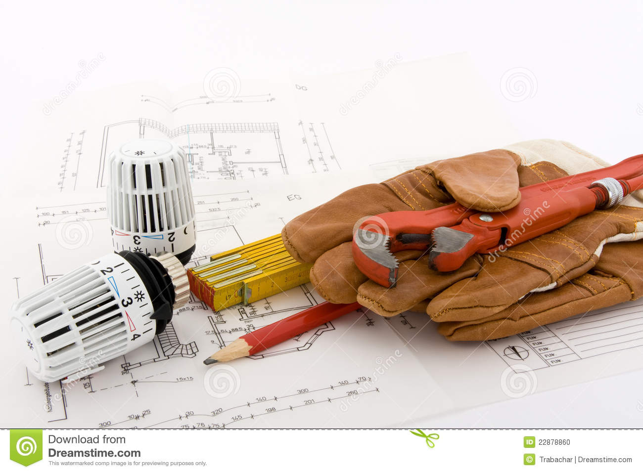 New Heating System Stock Photo Image 22878860