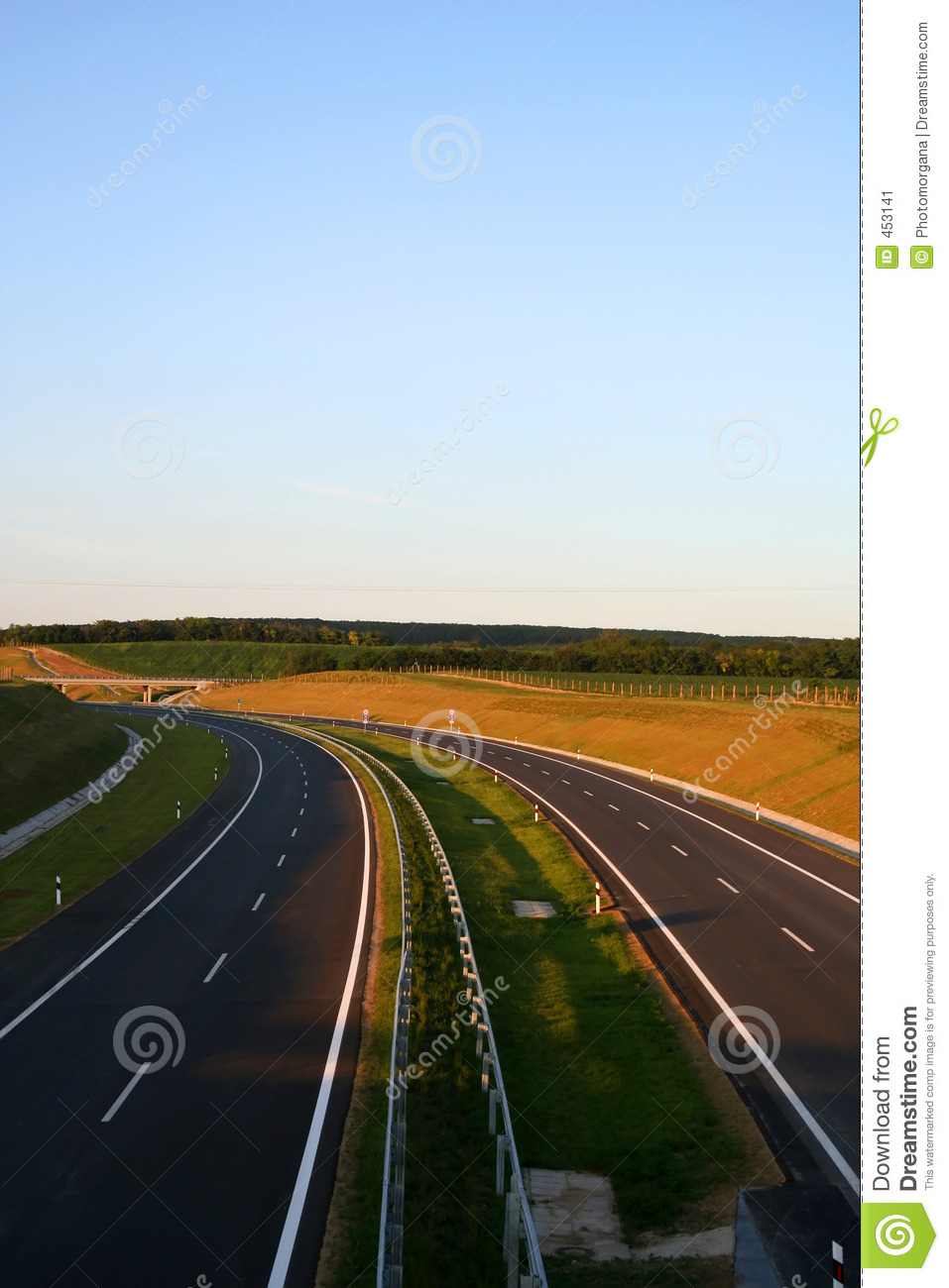 Download New Highway stock image. Image of auto, future, freedom - 453141