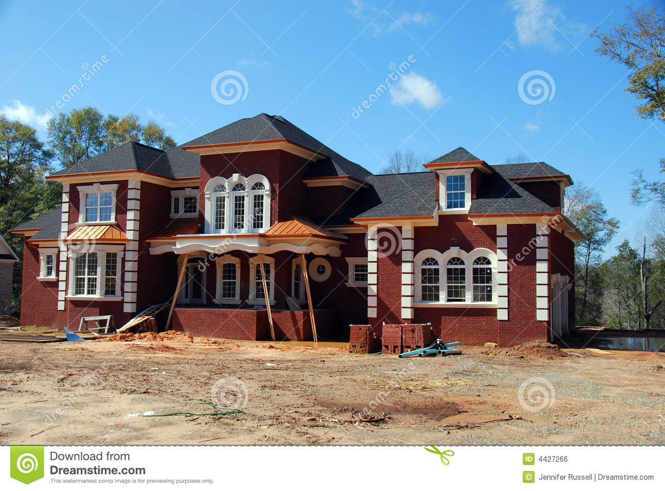 New Home Construction Royalty Free Stock Image Image