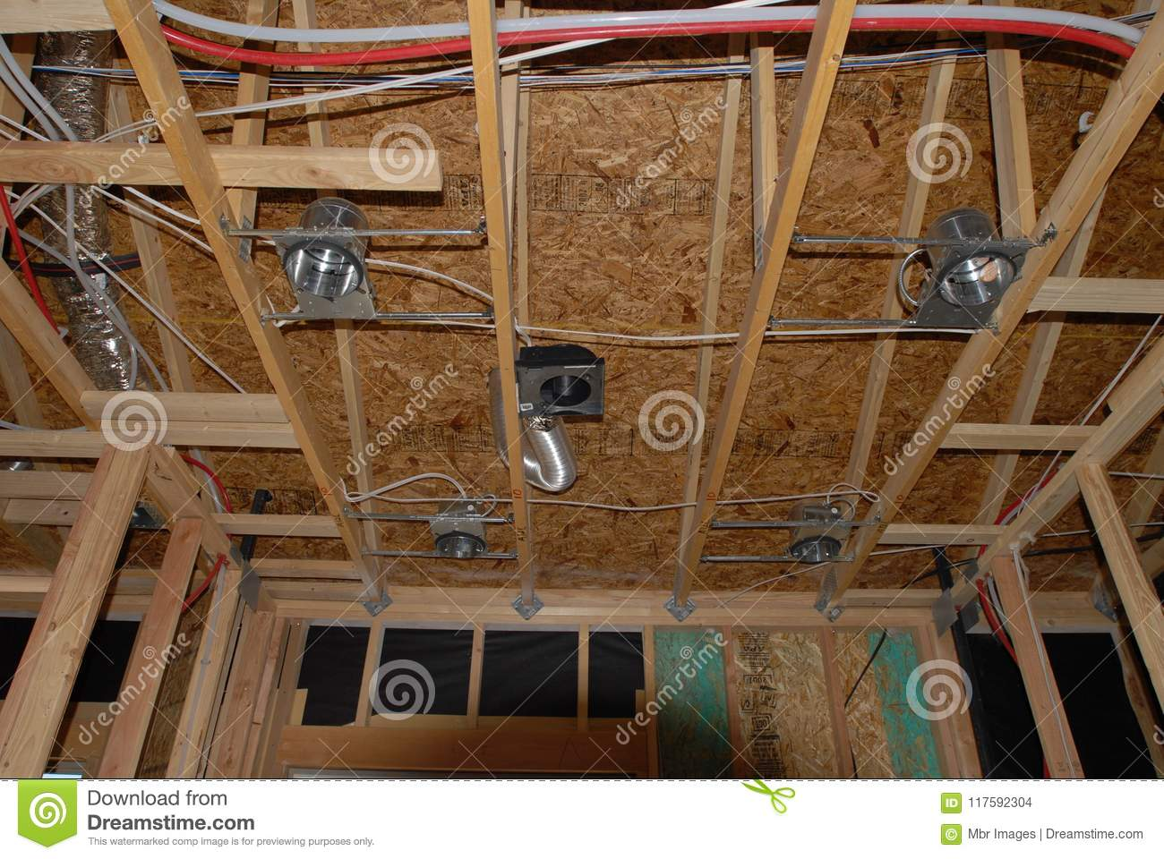 Astonishing New Home Construction Framing Editorial Stock Image Image Of Deal Wiring 101 Eumquscobadownsetwise Assnl