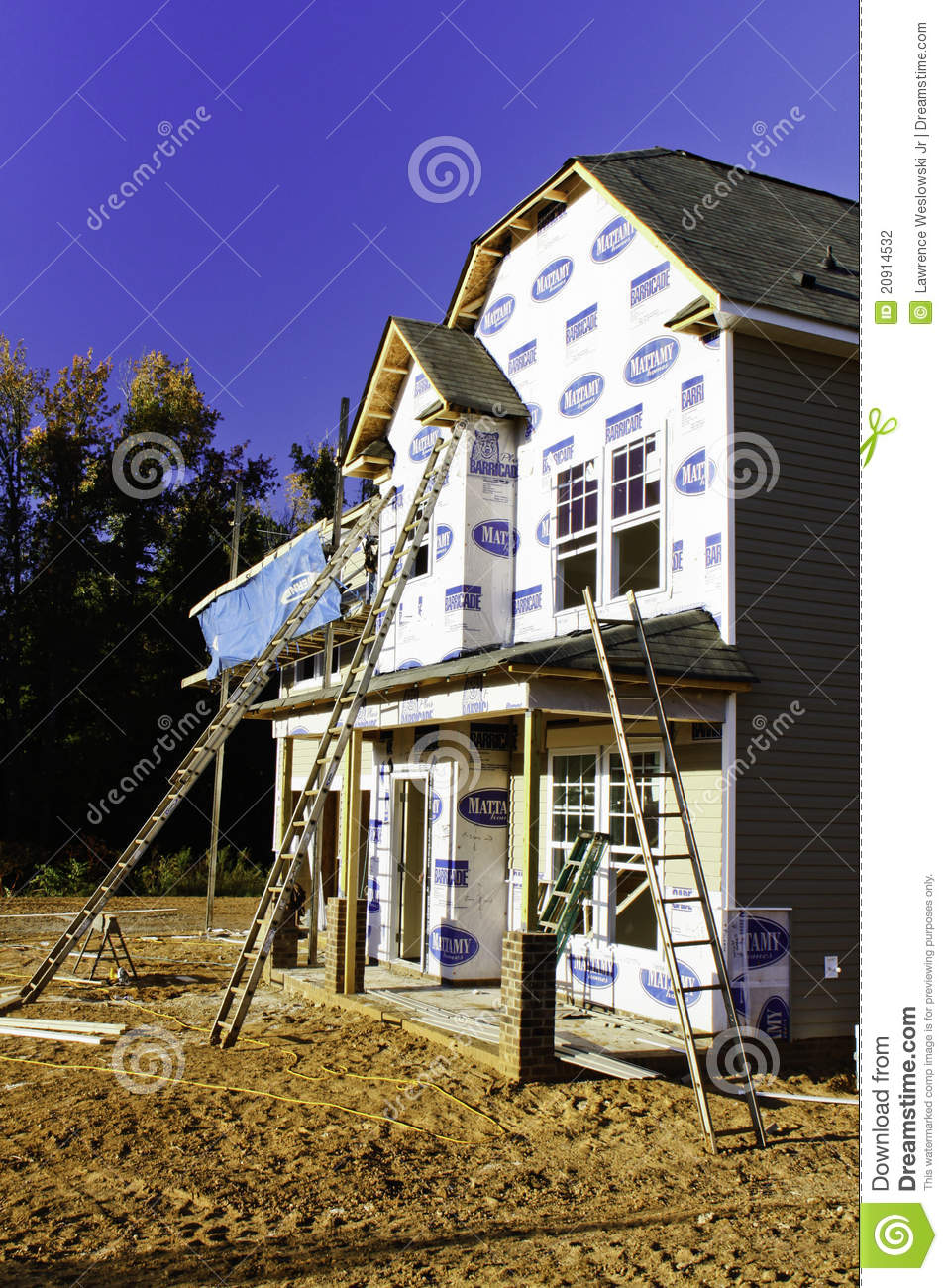 New home construction ladders and windows editorial for Windows for new construction