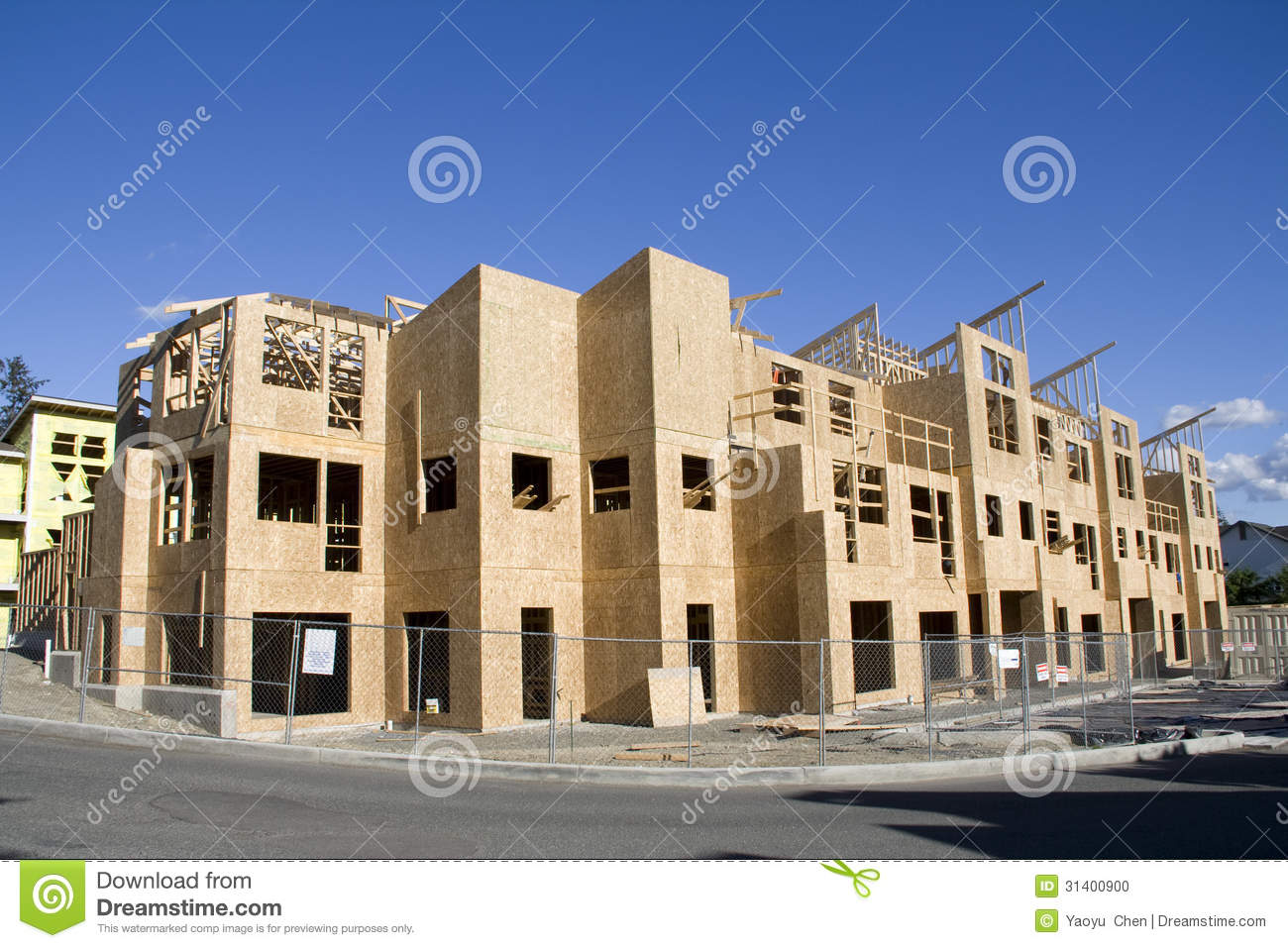 new home construction stock photo image 31400900 ForNew Home Builders In Seattle Area