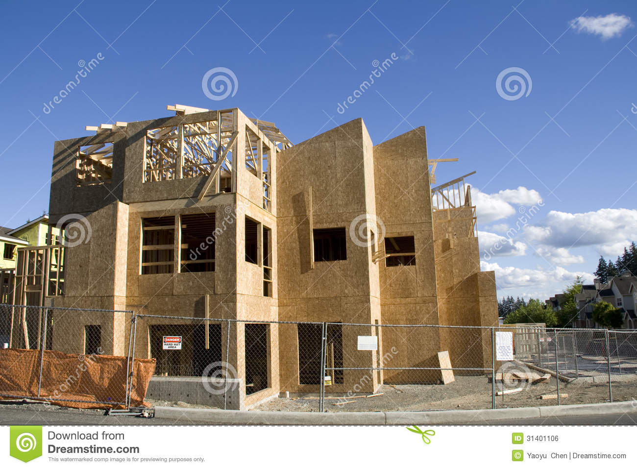 New home construction royalty free stock image image for New home builders in seattle area