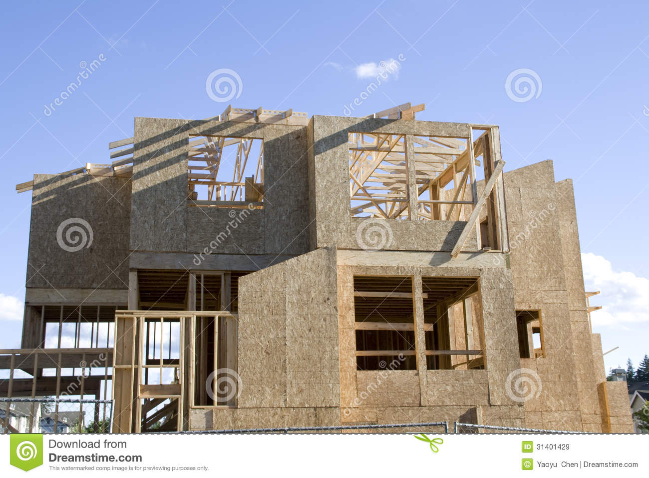 new home construction royalty free stock images image