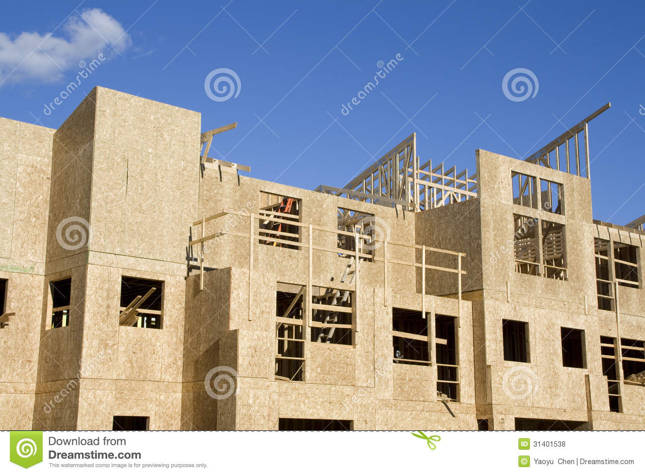 New home construction royalty free stock photos image for New home builders in seattle area