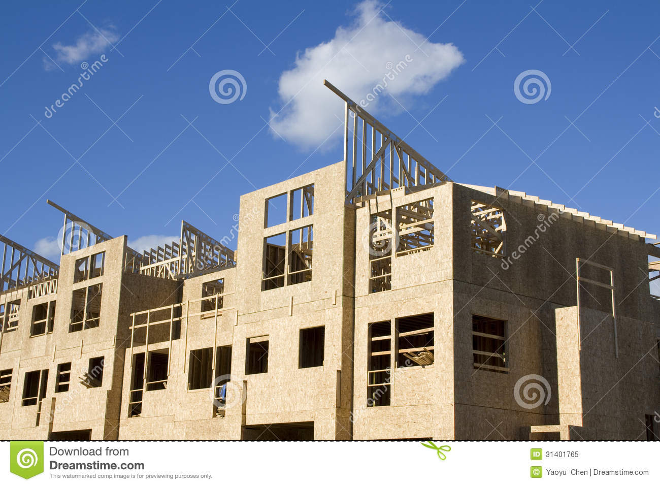 New home construction royalty free stock photo image for New home builders in seattle area