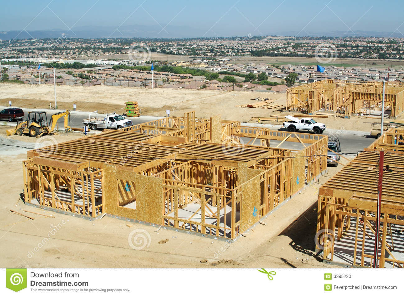 New home construction site stock photography for Home construction websites
