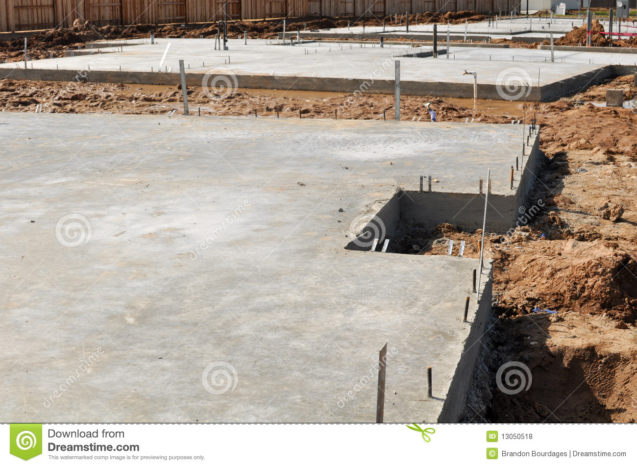 New home foundation royalty free stock photos image for New home foundation