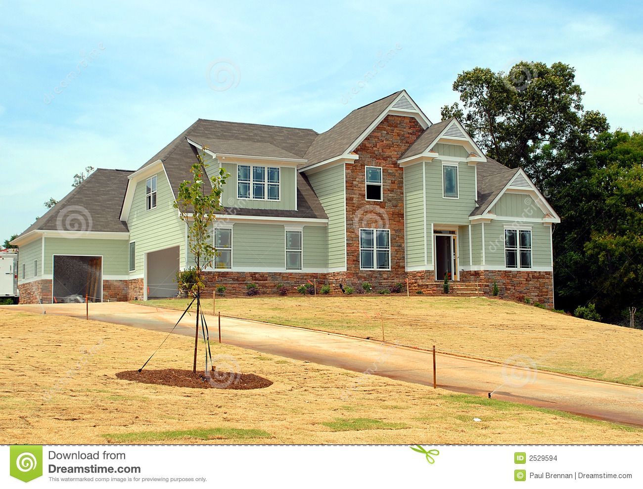 New home for sale stock images image 2529594 for New homes for sale